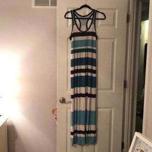LOFT Jersey knit maxi dress